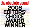 the abso!ute sound - EDITORS' CHOICE 2008