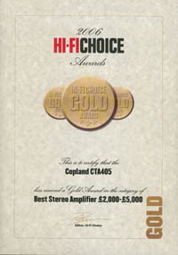 "HiFi Choice ""Awards 2006"""